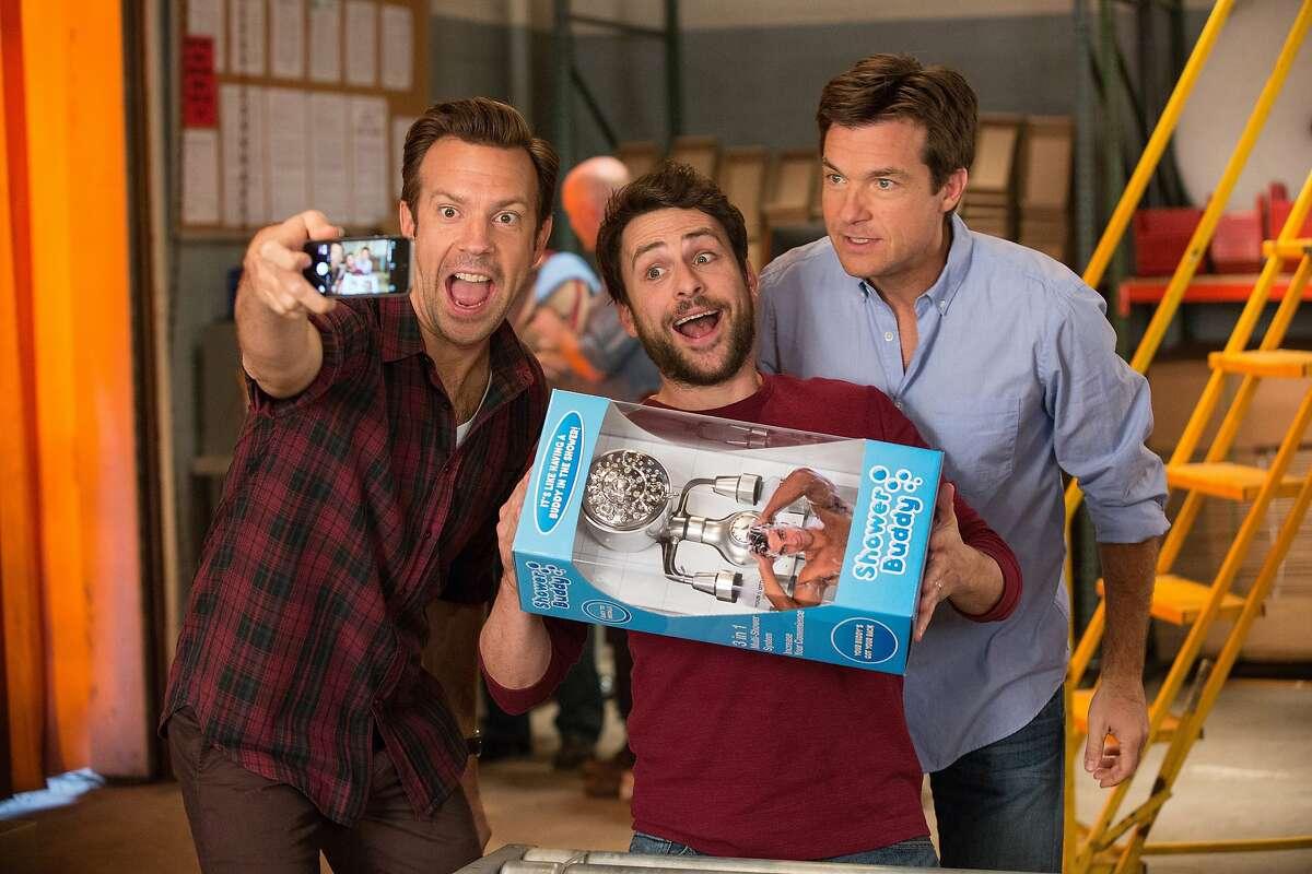 From left, Jason Sudeikis as Kurt Buckman, Charlie Day as Dale Arbus and Jason Bateman as Nick Hendricks in New Line Cinema's comedy