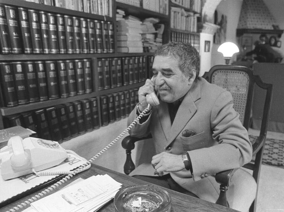 FILE - This undated file photo shows Nobel laureate Gabriel Garcia Marquez at an undisclosed location. The University of Texas' Harry Ransom Center has acquired Marquez's archive. The writer died on April 17, 2014. (AP Photo, File) Photo: Uncredited, STR / Associated Press / AP