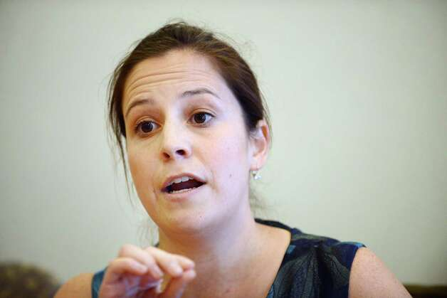 Elise Stefanik speaks during a Times Union editorial board meeting in October. (Will Waldron/Times Union) ORG XMIT: MER2014102715142865 Photo: WW / 00029107A