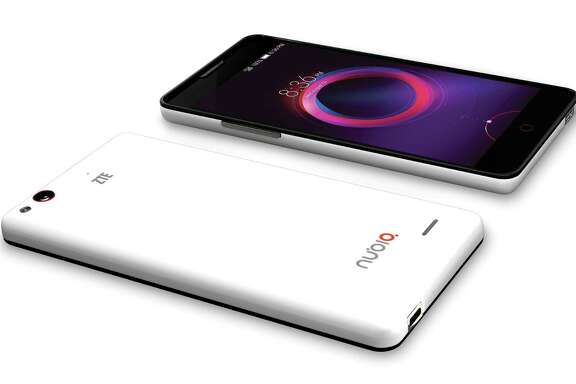 This product image provided by ZTE shows the Nubia 5S Mini smartphone. (AP Photo/ZTE)
