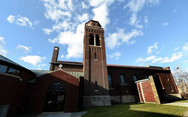 Exterior view of St. Anthony's Church Nov. 24, 2014 in Schenectady, N.Y.   (Skip Dickstein/Times Union) Photo: SKIP DICKSTEIN / 00029618A