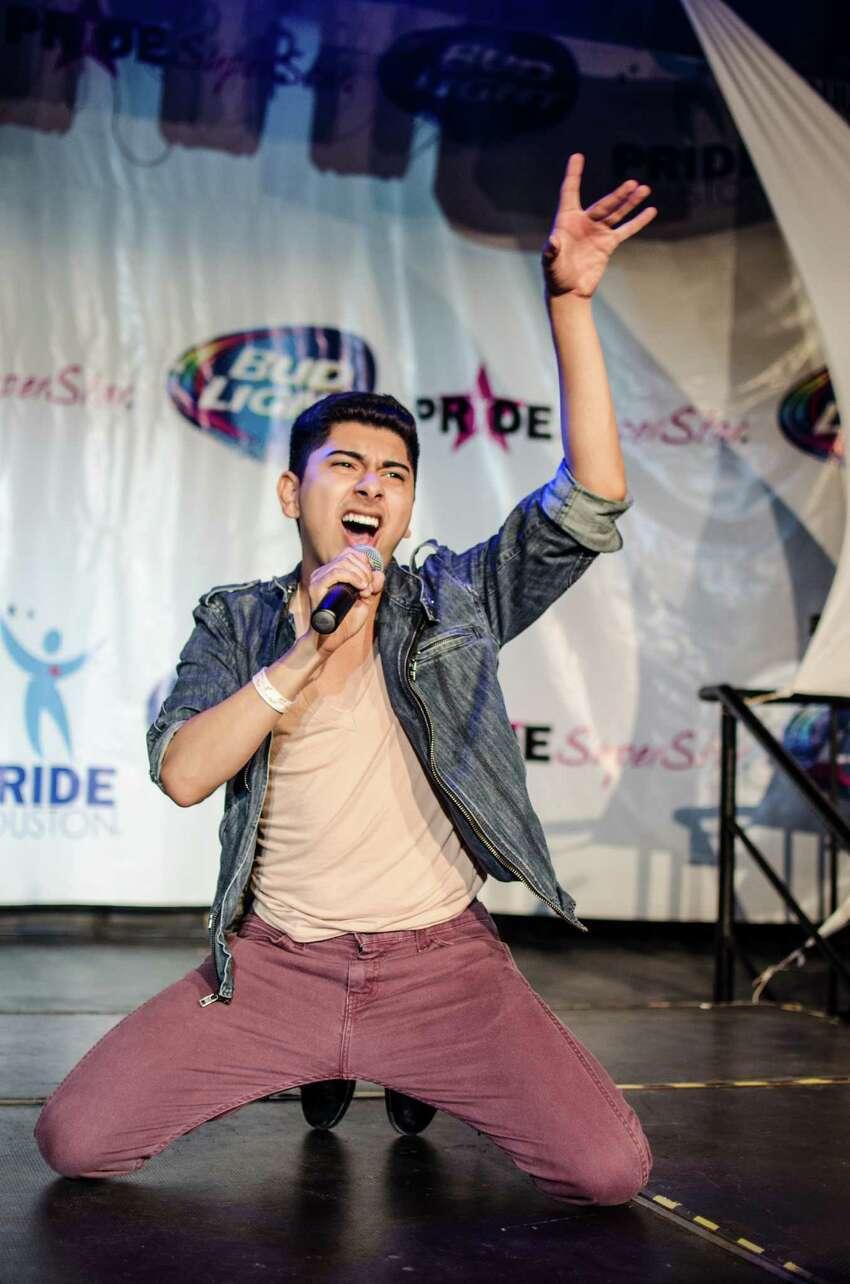 Pride Superstar 2014 winner Daniel Rosales.