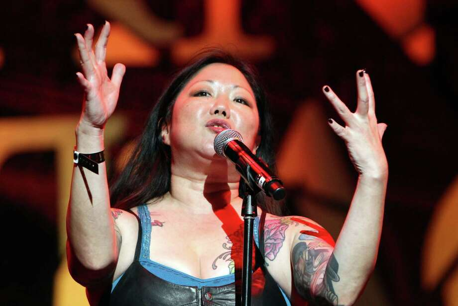 "Like her good friend and mentor Joan Rivers, comedian Margaret Cho works hard for her reward — ""he connection that you have with the audience."" Photo: David Buchan / David Buchan / Getty Images / 2014 David Buchan"