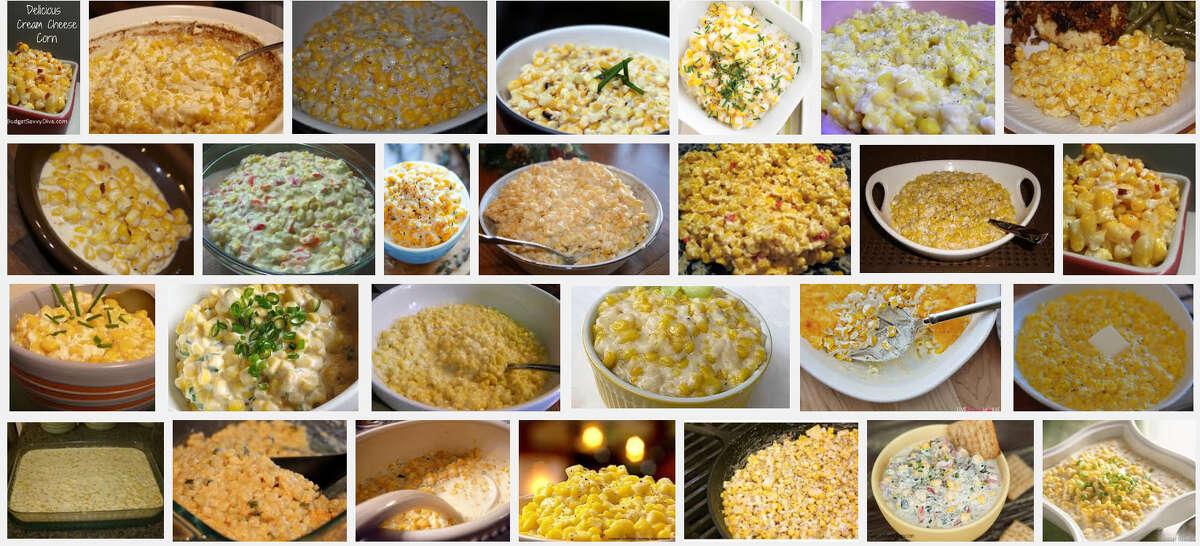 Cream Cheese Corn: Popular in Kansas but also in MissouriRecipe on mySA: Cream Cheese Corn Bake