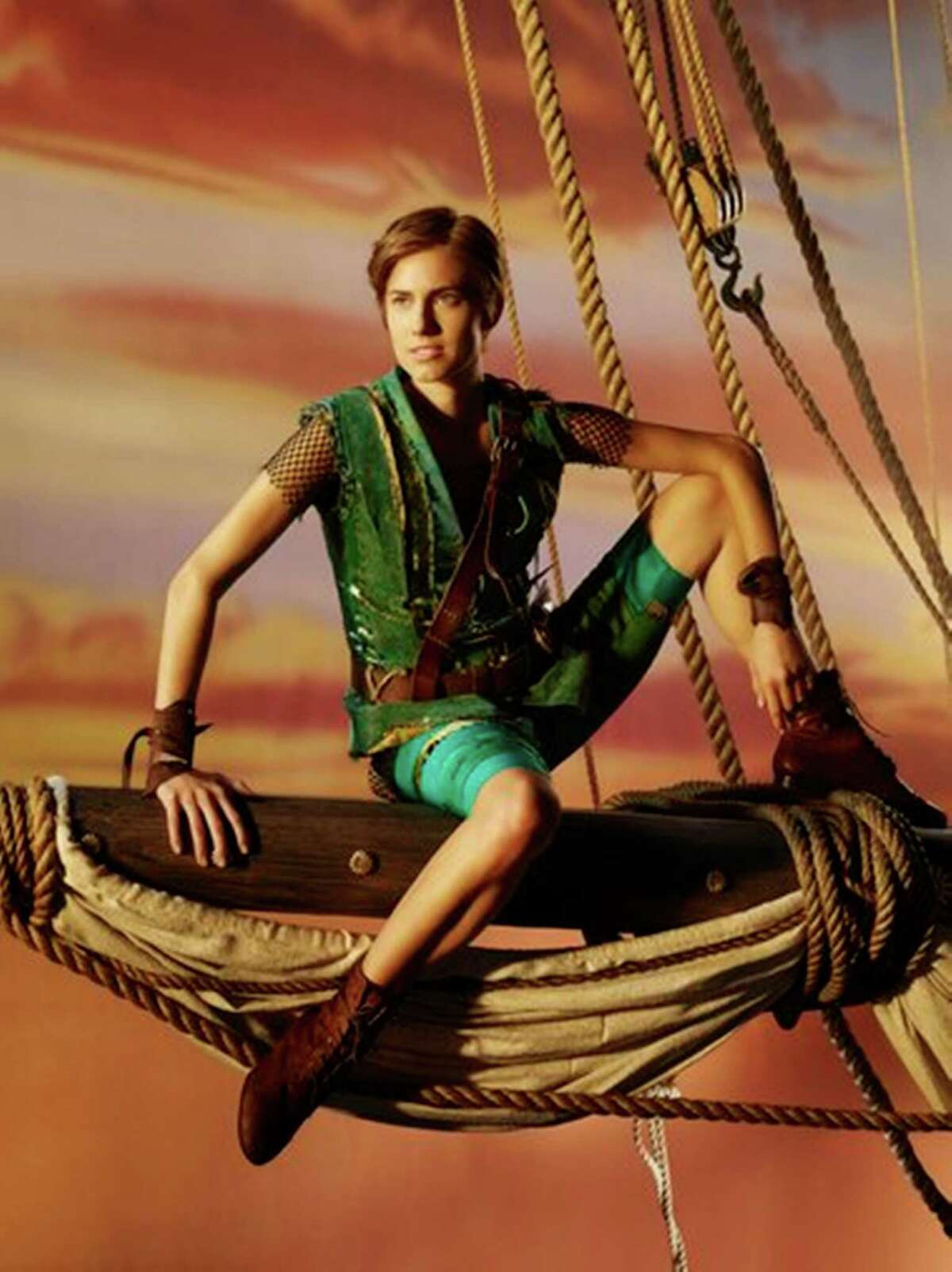 """Allison Williams has the title role in """"Peter Pan Live!"""""""
