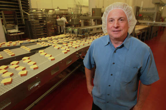 Steve O'Donnell stands in the Hill Country bakery. O'Donnell, a managing partner at the bakery, is also a co-founder and board member of the THRU Project. It provides guidance and support to foster youth transitioning into adulthood.
