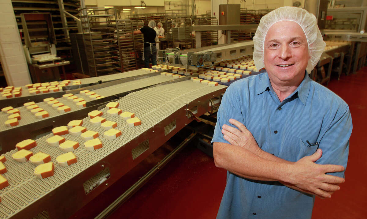Steve O'Donnell stands in his Hill Country Bakery. O'Donnell, a managing partner at the bakery, is also a co-founder and board member of the THRU Project. The project provides guidance and support to foster youth transitioning into adulthood.