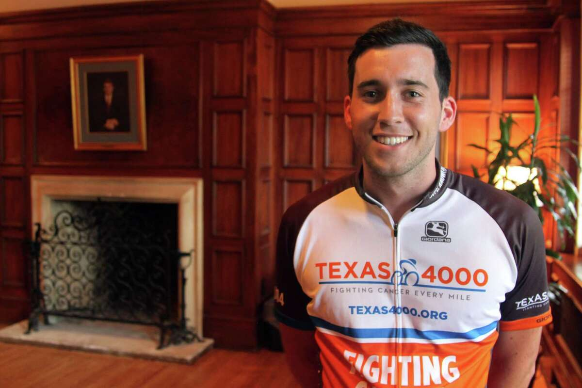 Alexander Zwaan, who grew up in San Antonio and is a senior at the University of Texas at Austin, is participating in the Texas 4000 bike ride from Austin to Anchorage, Alaska.