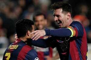 Messi sets Champions League - Photo
