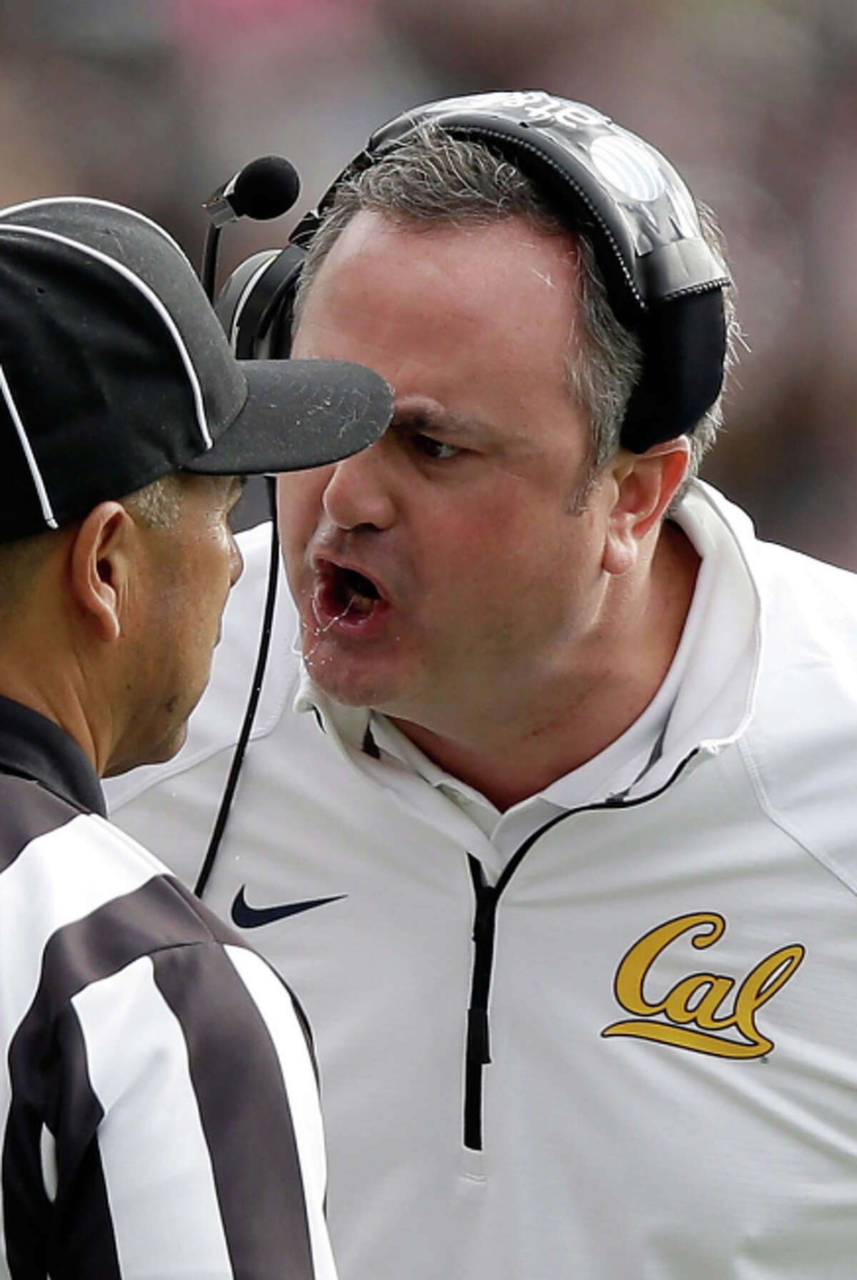 Cal head coach Sonny Dykes has a beef with the way the Big Game was officiated.