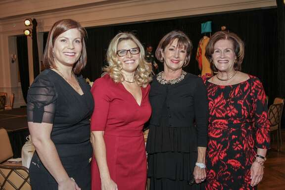 Lauren Levicki Courville, Rachel Steely, Cathy Fitzpatrick Cleary, and Nancy Levicki at Dress for Success's 14th Annual 'A Night Out'