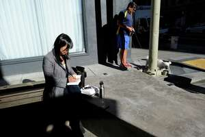 S.F.'s newest public space provides invitation to sit, linger - Photo
