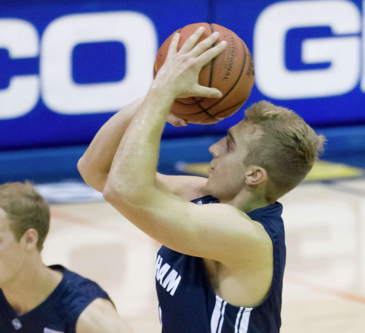 BYU guard Chase Fischer scored 30 points in a victory over Chaminade - all on three-pointers.