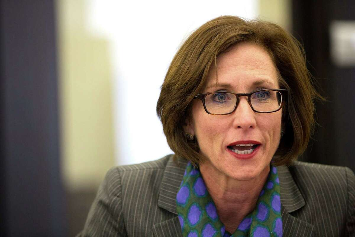Lois Kolkhorst, District 13 state representative who is running for the Senate District 18 seat in the special election during the editorial board meeting at the Houston Chronicle Monday, Nov. 24, 2014, in Houston. ( Johnny Hanson / Houston Chronicle )