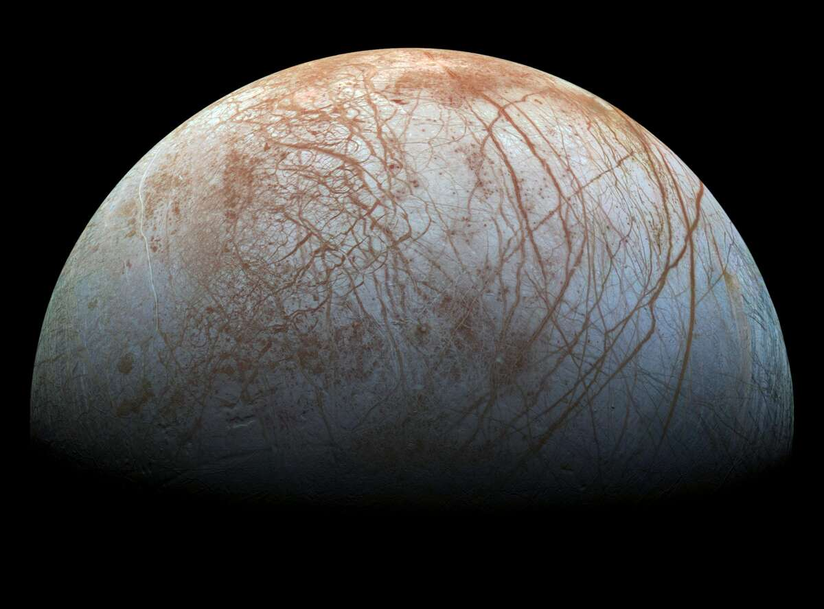 Images of Europa from the late 1990s are breathing new life thanks to new reprocessed image scientists and NASA have created. The Galileo spacecraft took the photos of Europa during its mission to Jupiter. See the great photos it took on its journey in our gallery.Source: NASA