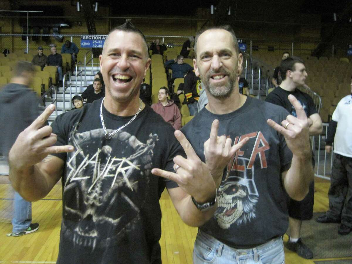 Were you Seen at the Slayer, Suicidal Tendencies and Exodus concert at the Washington Avenue Armory in Albany on Tuesday, Nov. 25, 2014?
