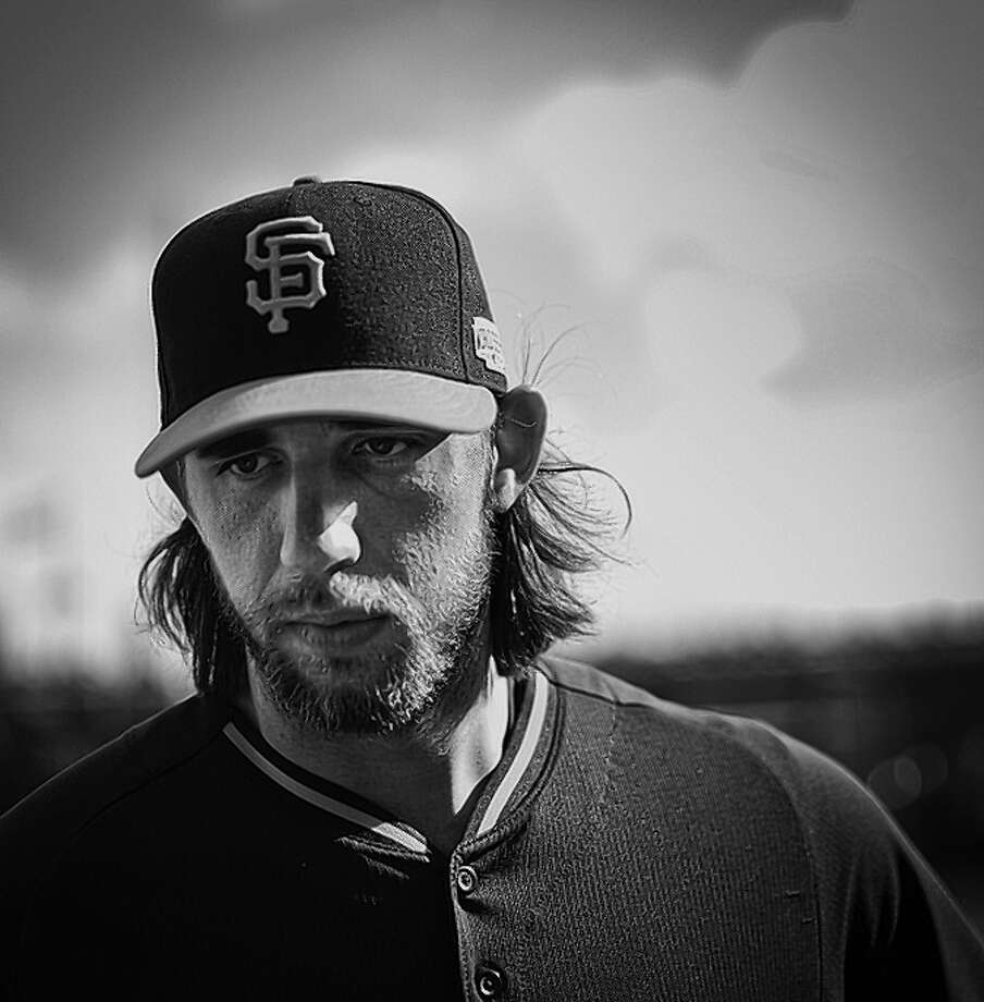 Giants pitcher Madison Bumgarner has an accessible down-home persona that might serve him well as a pitchman for various products. Photo: Russell Yip / The Chronicle / ONLINE_YES