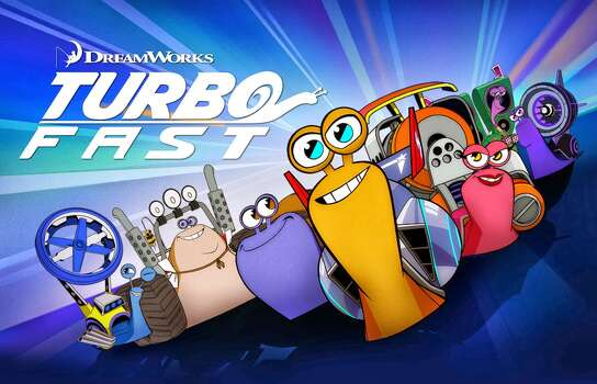 "'Turbo Fast' - Join Turbo and his posse on the Turbo Fast Action Stunt Team. Filled with outrageous comedy, action and laugh out loud fun, ""Turbo FAST"" amps up everything to the extreme: extreme adventures, extreme challenges, and extreme excitement. Available Dec. 1 Photo: Handout"