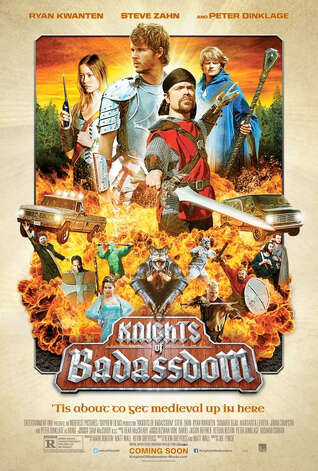 'Knights of Badassdom' - Venturing deep into the woods to act out a medieval fantasy scenario, three friends forsake their imaginary roles when they face a real-life struggle for survival after inadvertently conjuring an evil succubus. Available Dec. 1 Photo: Handout