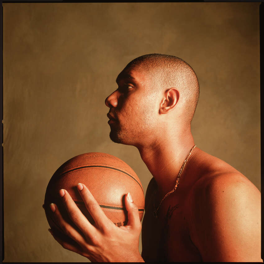 Tim Duncan, San Antonio 1999 Photographs by Michael O'Brien from