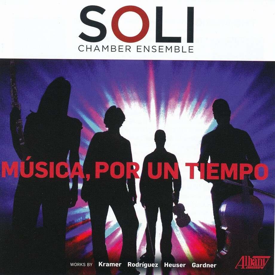 """""""Musica, por un tiempo"""" by the Soli Chamber Ensemble Photo: Albany Records / San Antonio Express-News"""