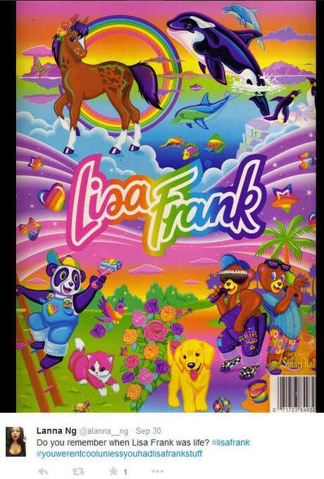 Lisa Frank nostalgia.