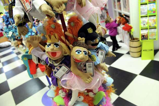 Hand puppets are on display on Thursday, Nov. 20, 2014, at G. Willikers in Guilderland, N.Y. (Cindy Schultz / Times Union) Photo: Cindy Schultz / 00029569A