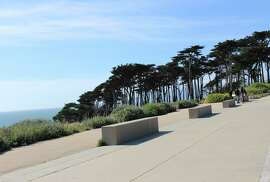 1. Land's End Lookout 680 Point Lobos Ave.: First, sit and gaze dreamily at the stunning views of the Pacific Ocean. Then go inside the visitor center to learn about the native fauna, browse the gift shop's retro-style Sutro Baths poster and signs and then pick up a snack at the cafe. 9 a.m.-5 p.m. daily. (415) 426-5240. http://1.usa.gov/IZ3C10.