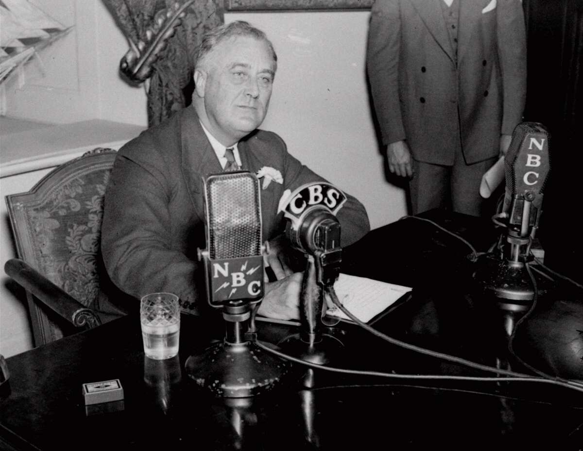 President Pres. Franklin D. Roosevelt lost the use of his legs when he contracted polio as an adult. He rarely allowed himself to be seen using a wheelchair in public.