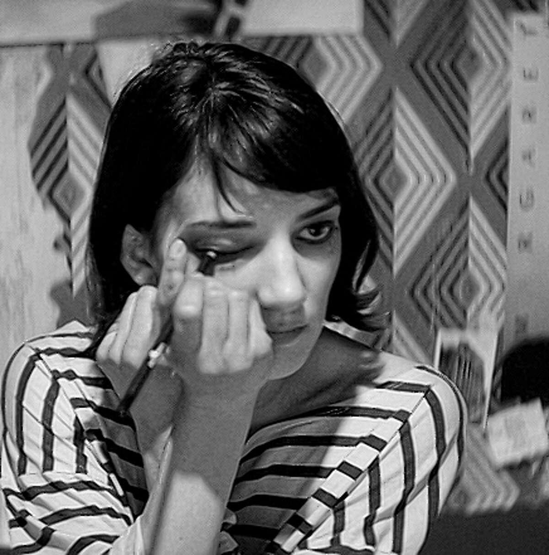 Sheila Vand plays a vampire dining on Bad City denizens.