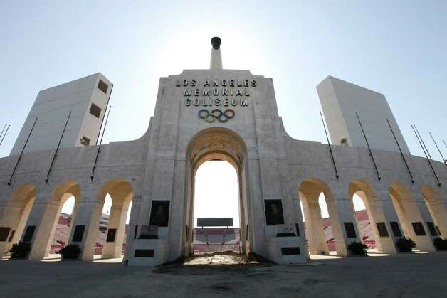 FILE -- The Los Angeles Memorial Coliseum, the site of two Summer Olympics Games, in Los Angeles, May 30, 2012. Los Angeles is one of seven U.S. cities competing to convince the United States Olympic Committee that they should be the American nominee to host the 2024 Summer Games. (Monica Almeida/The New York Times) ORG XMIT: XNYT29 Photo: MONICA ALMEIDA / NYTNS