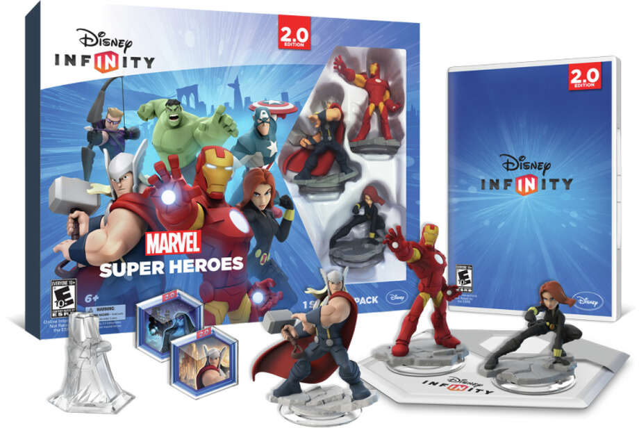 """Disney Infinity 2.0: Marvel Super Heroes"" has figures of Thor, Iron Man and Black Widow. Photo: Uncredited / Associated Press / Disney Interactive"