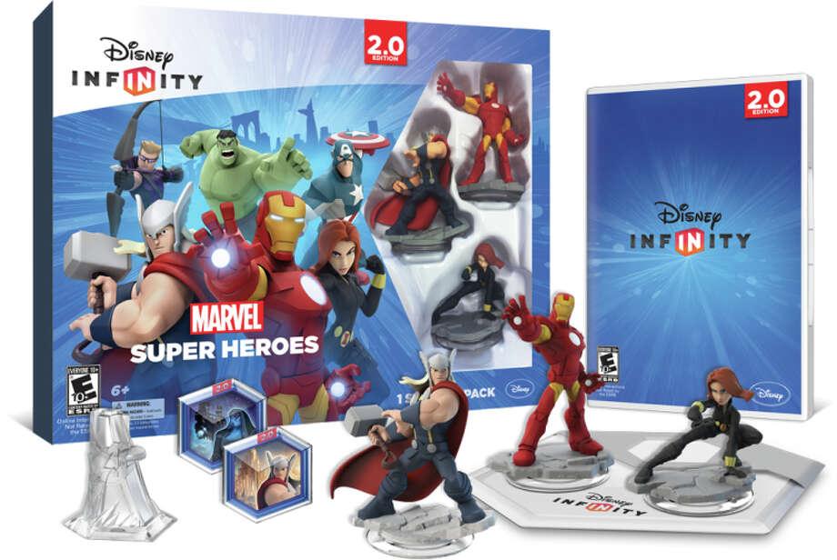"""Disney Infinity 2.0: Marvel Super Heroes"" has figures of Thor, Iron Man and Black Widow. Photo: Uncredited / Associated Press / Disney Interactive"