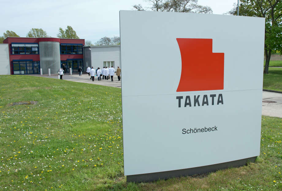 Air bag maker Takata is being threatened with legal action and fines by U.S. safety regulators. Photo: Jens Meyer / Associated Press / AP