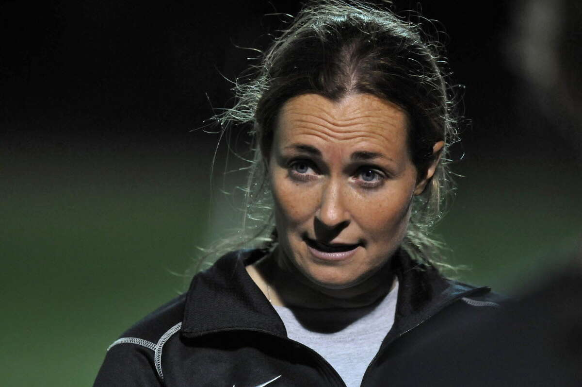 College of Saint Rose women's soccer head coach Laurie Darling Gutheil says her team is not concerned about where it is seeded headed into a first-round game against Daemen. (Philip Kamrass/Times Union archive) ORG XMIT: MER2014111411583006