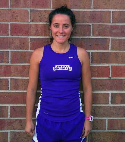 Chloe Boutelle of St. Michael's cross country, is a Saratoga Springs graduate (St. Michael's sports information)