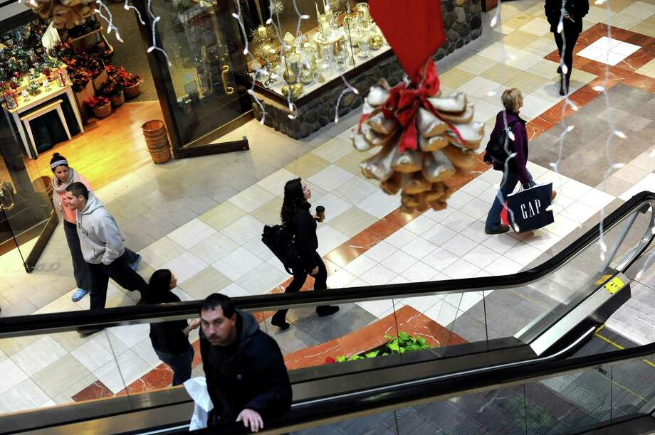 Shoppers look for early deals on Wednesday, Nov. 26, 2014, at Colonie Center in Colonie, N.Y. (Cindy Schultz / Times Union) Photo: Cindy Schultz / 00029646A