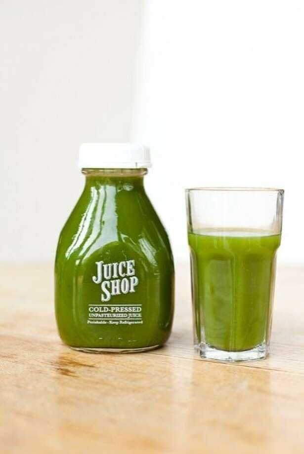 Deep Green Juice from the Juice Shop