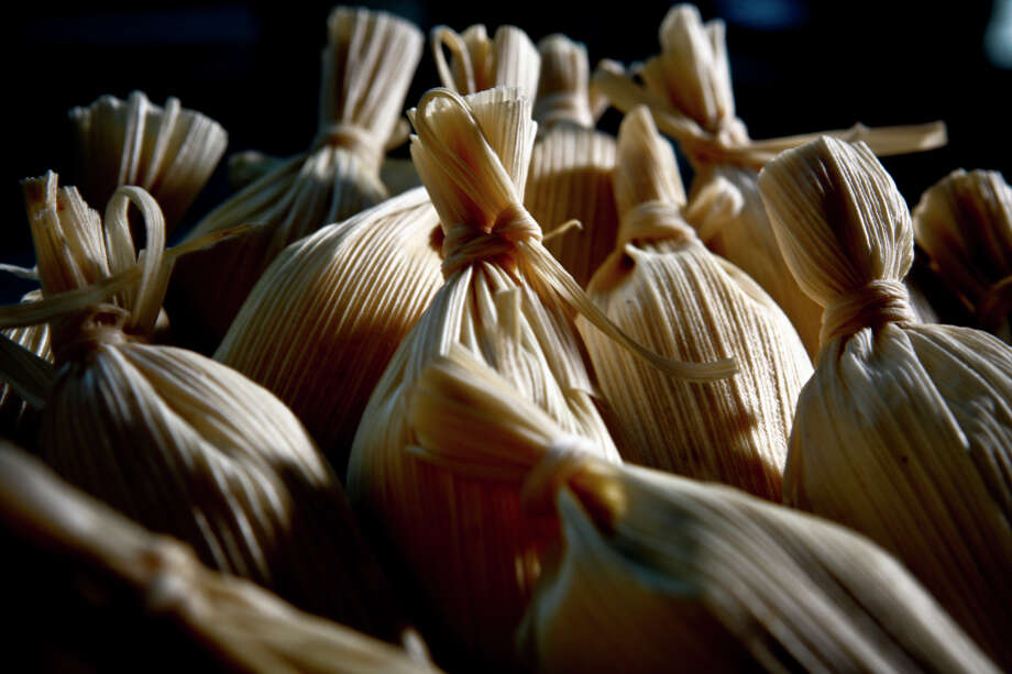 A workshop next weekend will teach adults and children how to make tamales. Photo: Russell Yip / The Chronicle / SFC