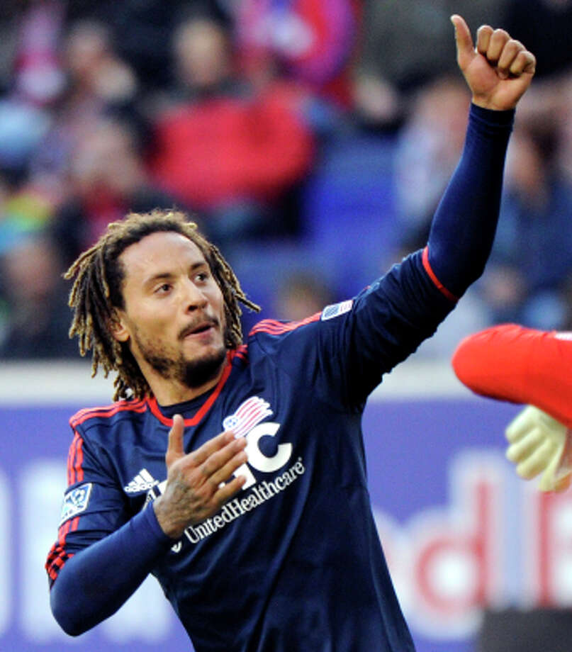 Jermaine Jones, 33, is a midfielder for the New England Revolution. Photo: Bill Kostroun / Associated Press / FR51951 AP