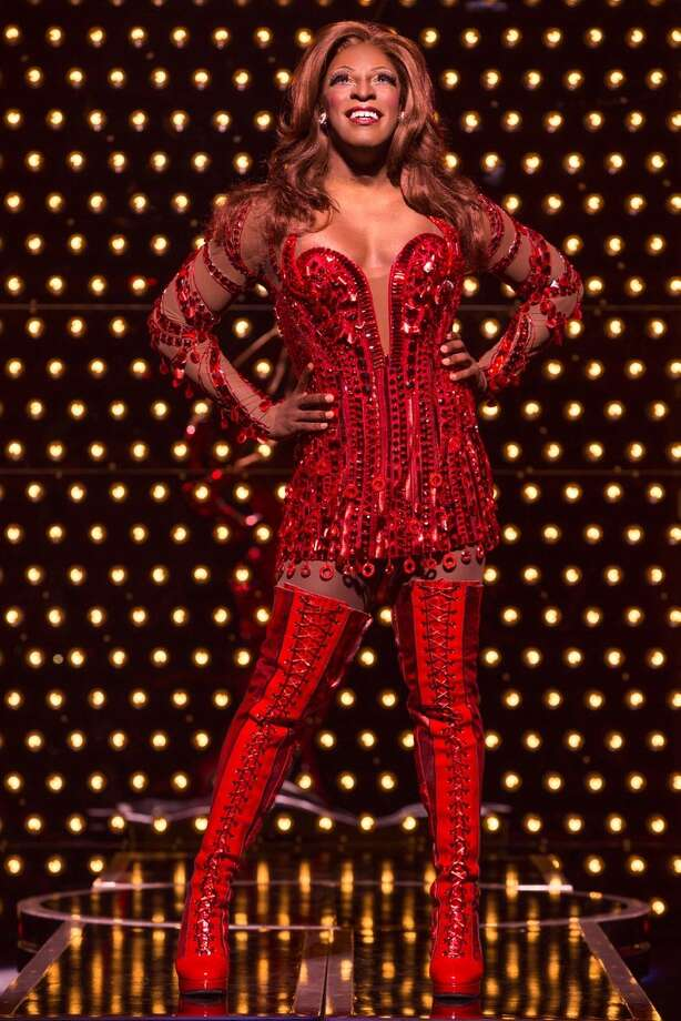 "Kyle Taylor Parker is Lola, a fabulous drag queen who comes to the rescue of a shoe factory in the Tony Award-winning musical ""Kinky Boots,"" running through Dec. 28 at the Orpheum Theatre as part of the SHN season. Photo: Matthew Murphy / Matthew Murphy / ONLINE_YES"