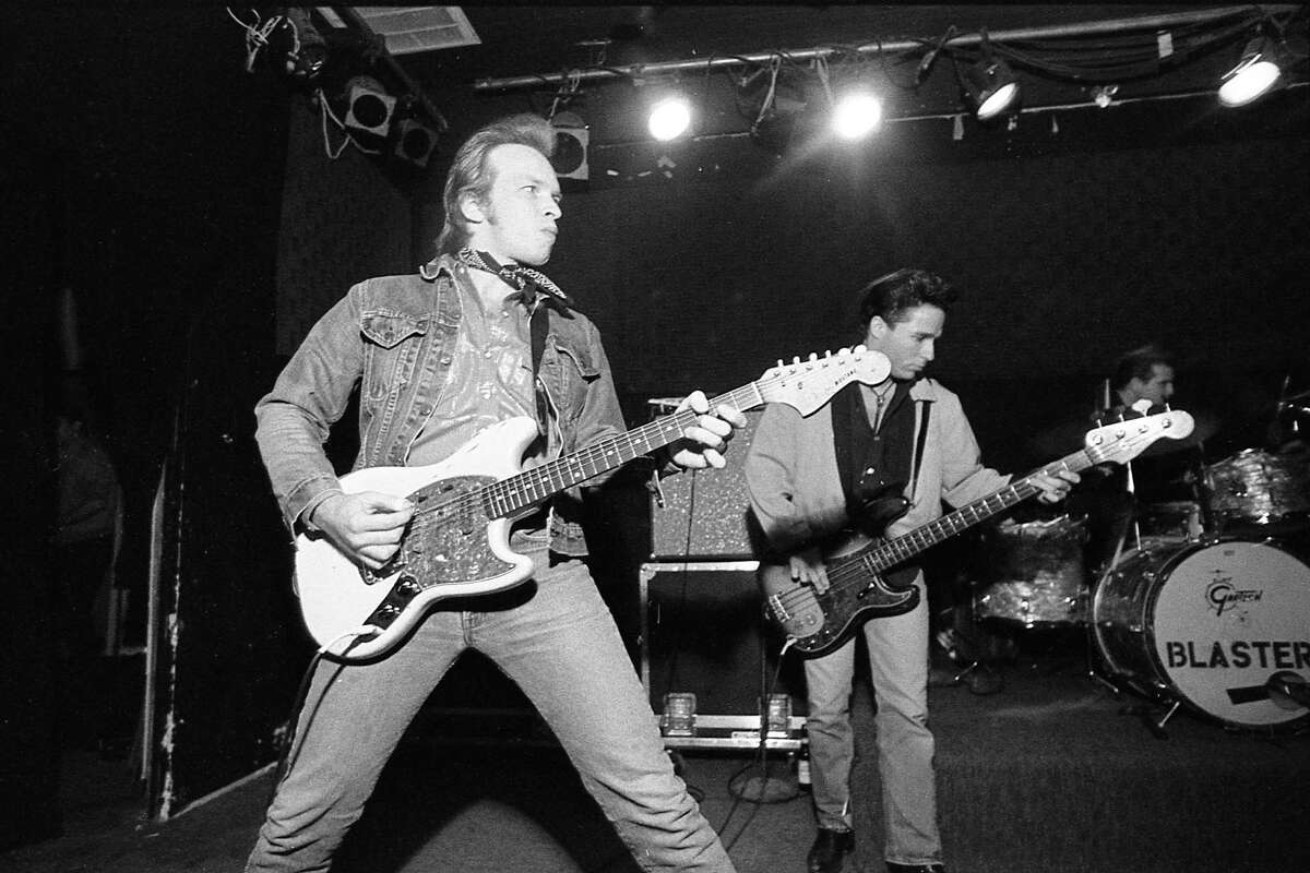 Dave Alvin and The Blasters at Fitzgerald's, 2706 White Oak, Nov. 30, 1984.