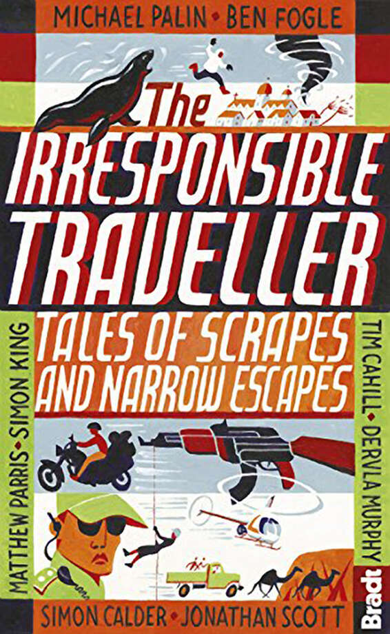 """The Irresponsible Traveller: Tales of Scrapes and Narrow Escapes"" from Bradt. Photo: Amazon / ONLINE_YES"