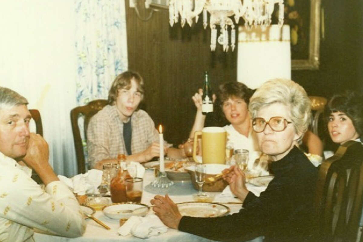 I'm grateful that Aunt Barb wasn't focused on Shawn and his Molson.
