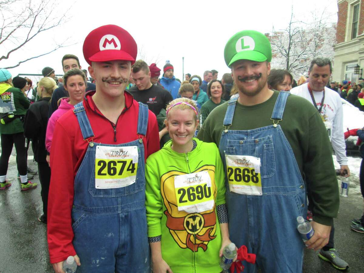 Were you Seen starting off your Thanksgiving at the 67th annual Troy Turkey Trot on Thursday, Nov. 27, 2014?