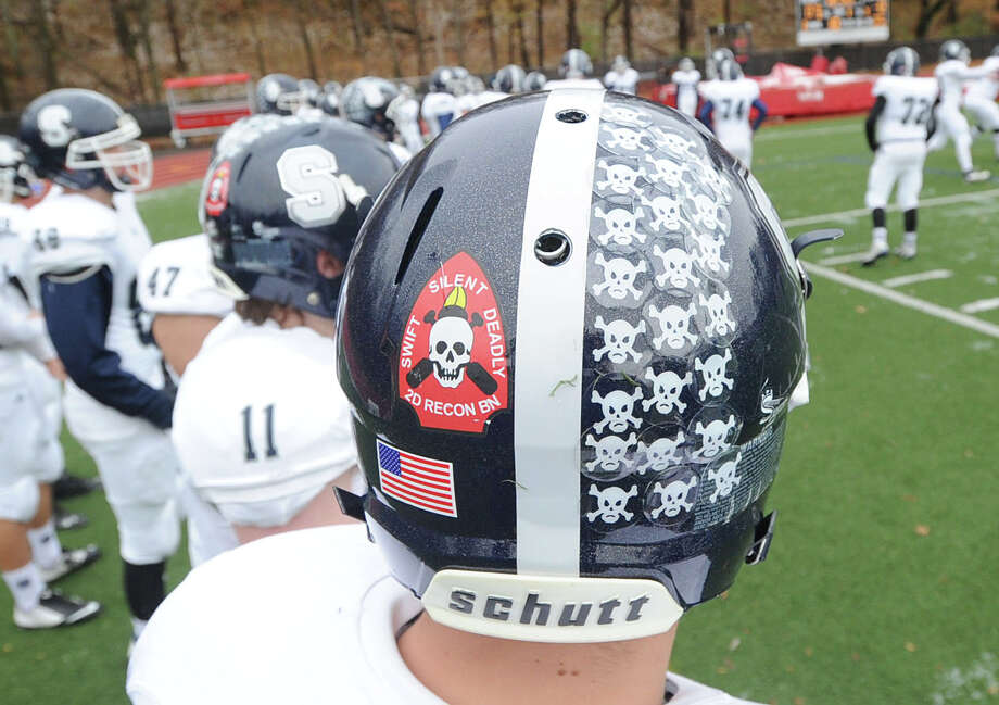 The Thanksgiving Day high school football game between Greenwich High School and Staples High School at Greenwich, Conn., Thursday, Nov. 27, 2014. Staples defeated Greenwich by a score of 38-21. Photo: Bob Luckey / Greenwich Time