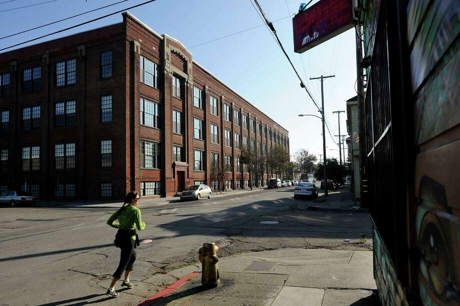 The Lampwork Lofts is a newly opened development offering 92 apartments in a former General Electric lightbulb factory building in West Oakland, CA, on Wednesday, November 26, 2014. Photo: Michael Short / Special To The Chronicle / ONLINE_YES