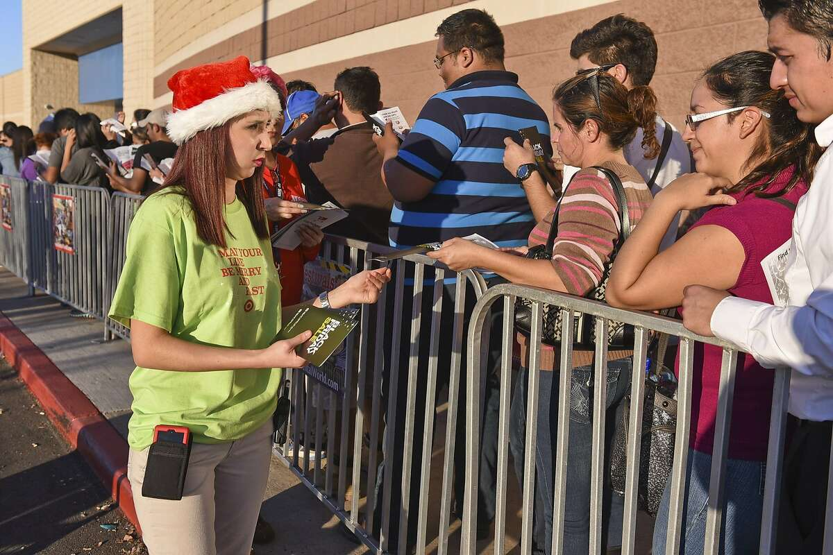"""Consumer Reports finds out """"What Americans dread the most about the holidays"""" 1. Crowds and long lines: 64 percent Source: Consumer Reports"""