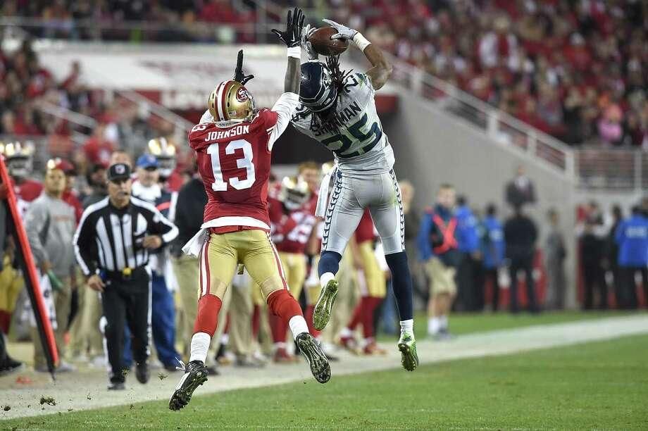 Sherman leads Seahawks over Niners - Houston Chronicle