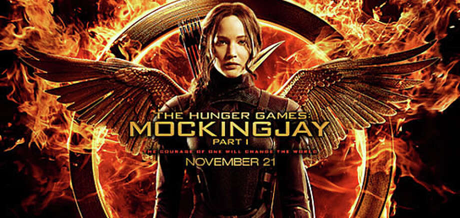 "ìThe Hunger Games: Mockingjay, Part 1"" is the newly released, part one of the finale of the movie adaptation of Suzanne Collins' novel trilogy. Photo: Contributed Photo / Westport News"